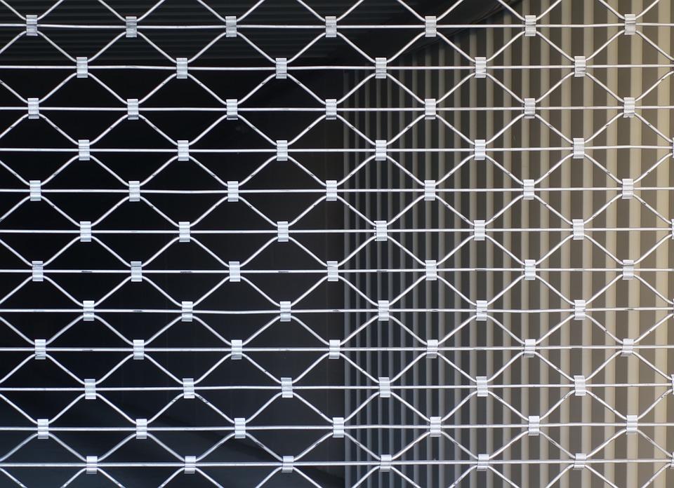 rideaux métalliques